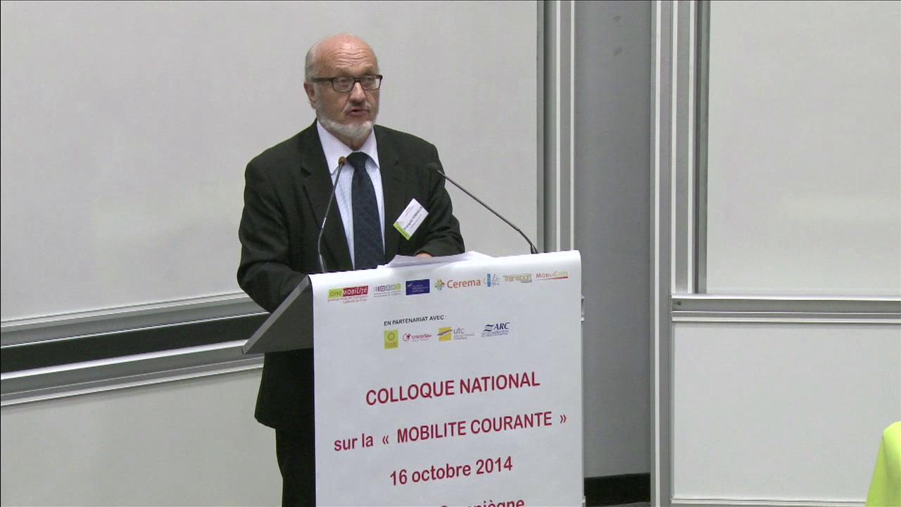 François Ferrieux, initiateur du Club national pour la mobilité courante