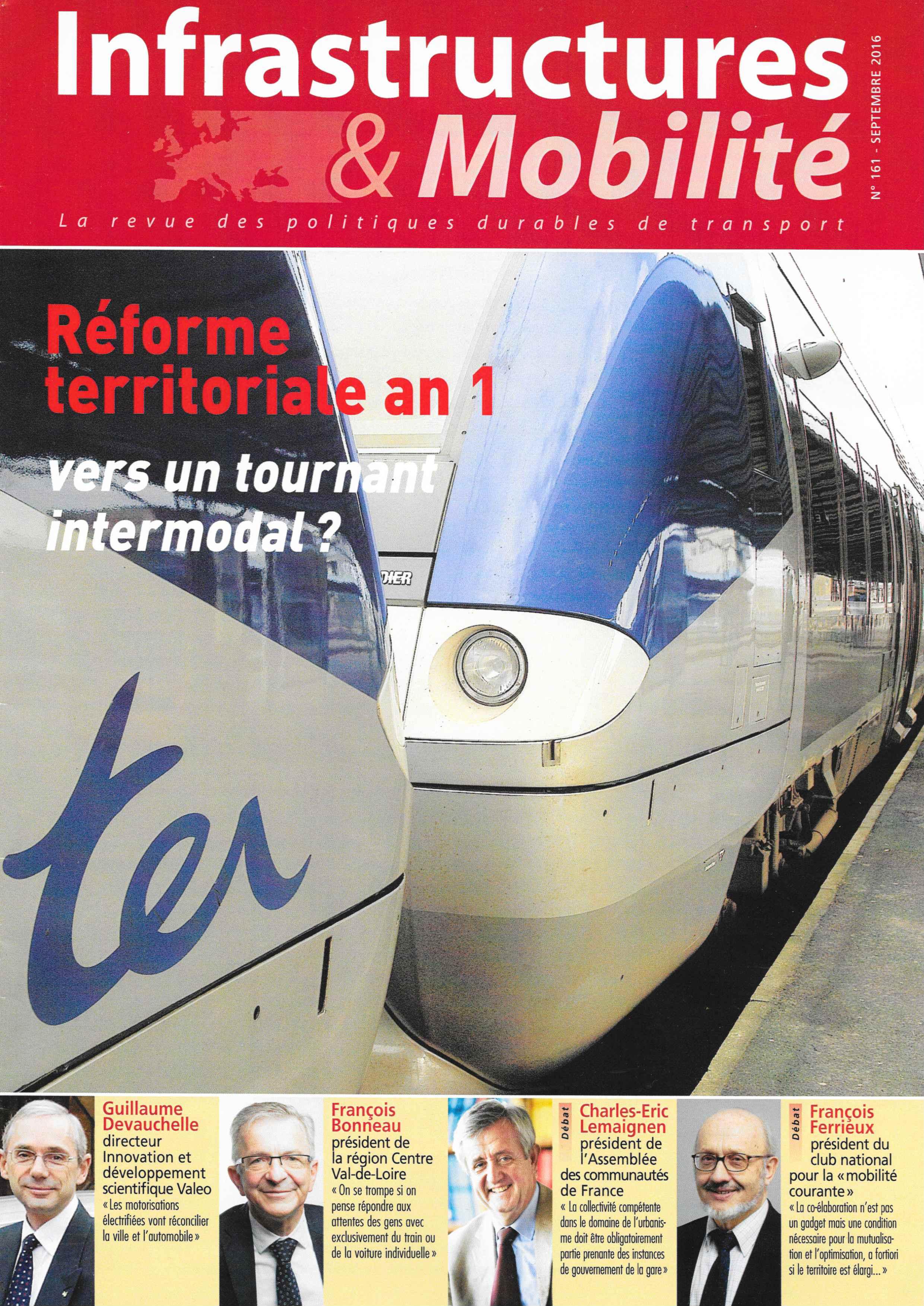 Couverture Revue Infrastructures & Mobilité